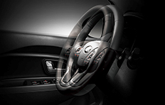 Kia Rio 4-door Interior Telescopic steering wheel