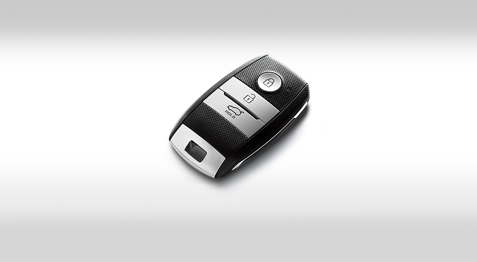 Kia Rio 4-door Interior Smart key